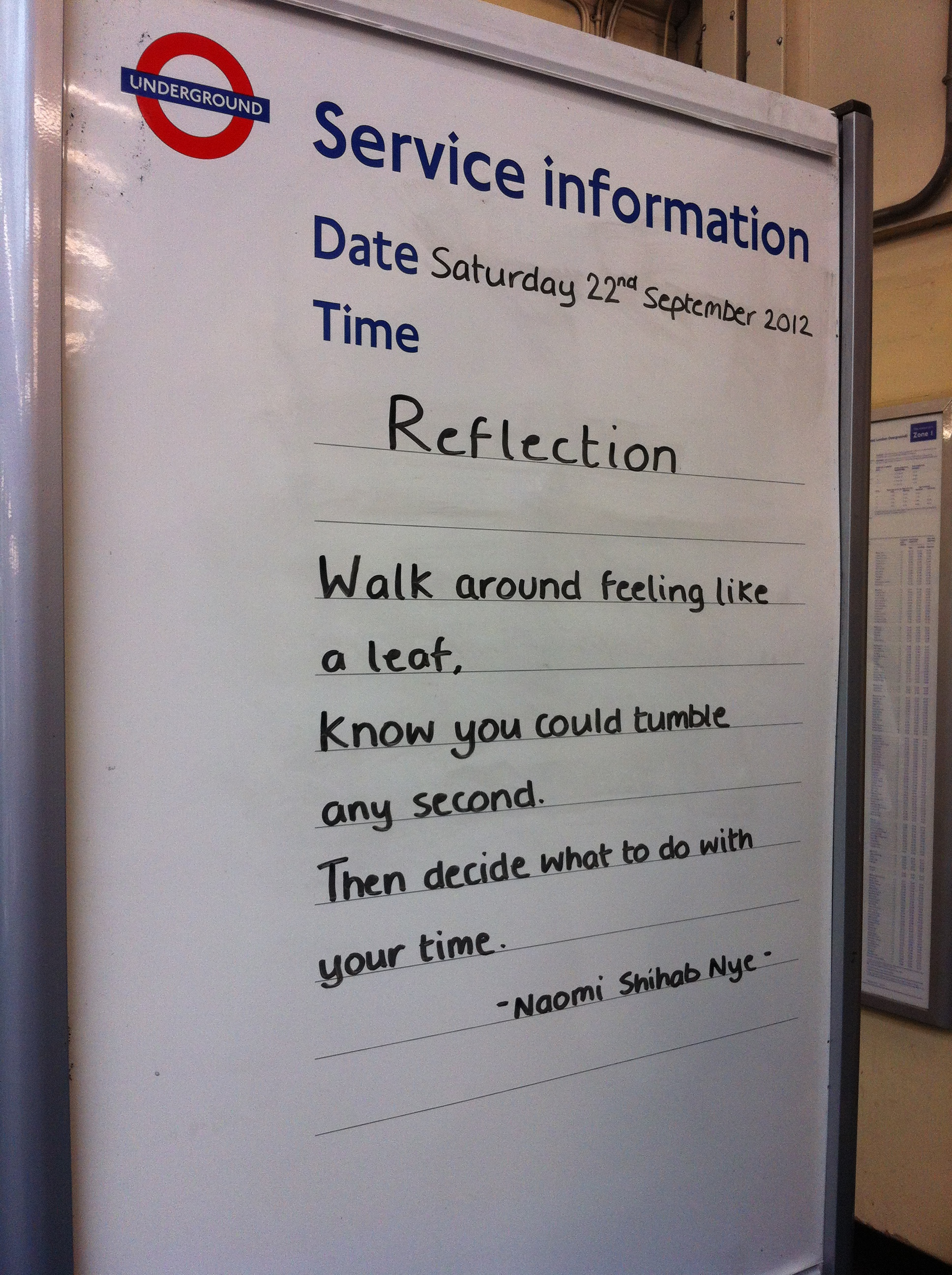 South Kensington Tube Sign