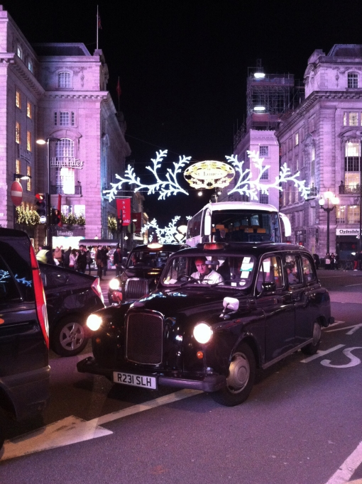 Christmas in Piccadilly Circus