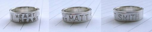 Matt Smith ring