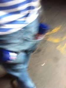 Blur paint cans