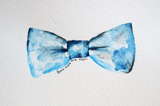 Postcard by runawaykiwi - bow ties are cool