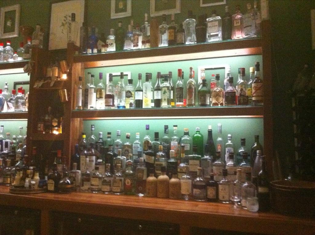 170 Gin Bottles