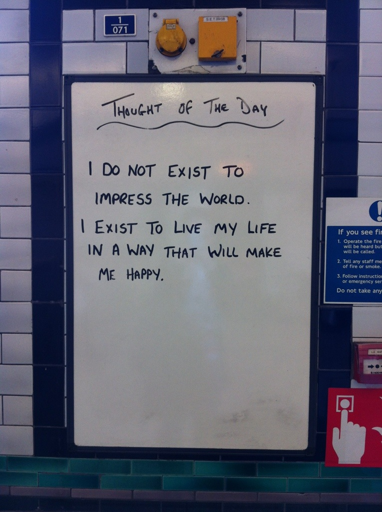 Thought of the Day poster