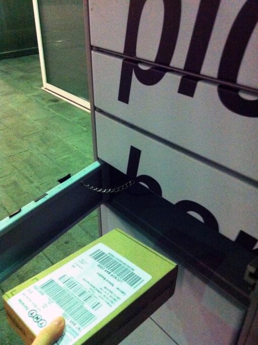 Amazon Locker Door Open